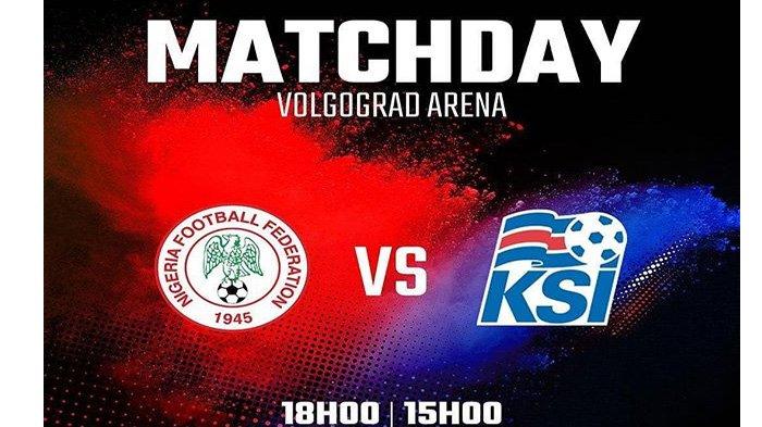 LIVE Trans TV! Islandia vs Nigeria di Grup D Piala Dunia 2018 Pukul 22.00 WIB Malam Ini