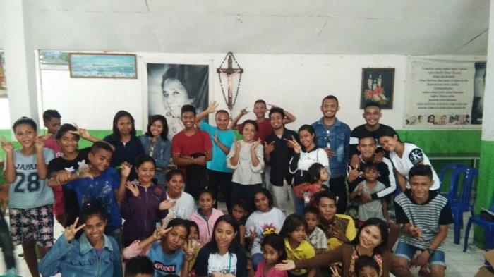 Panitia Natal dan Tahun Baru Berbagi Kasih Dengan Anak Panti Asuhan di Kota Kupang