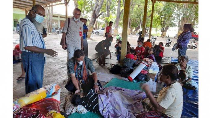 OMK Paroki Betun Sigap 1x24 Jam Distribusi Bantuan ke Korban Bencana di Malaka