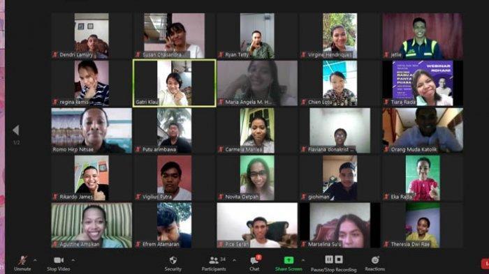 OMK Sta Maria Fatima Perumnas Gelar Webinar Jelang Paskah 2021