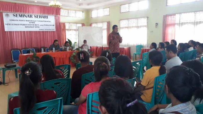 Romo Yoris Minta Kaum Muda Belu Segera Bergerak Wujudkan Perdamaian di Tapal Batas