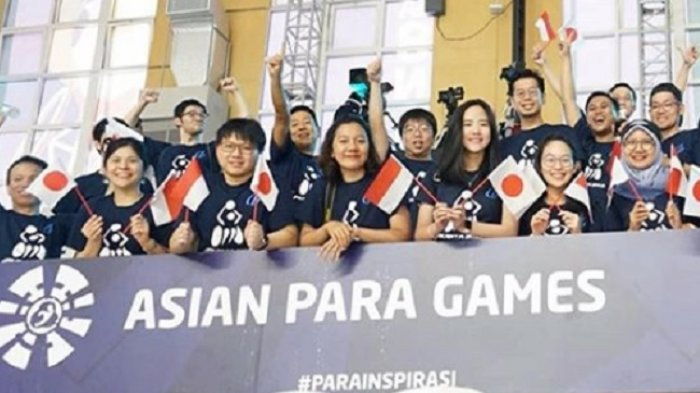 Live Streaming Opening Ceremony Asian Para Games 2018 Live di TVRI & Metro TV