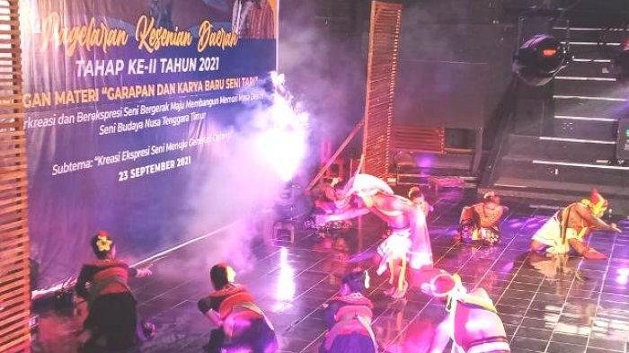 Dinas Pendidikan dan Kebudayaan NTT Gelar Pagelaran Kesenian Daerah, Beni Atraksi Para Seniman