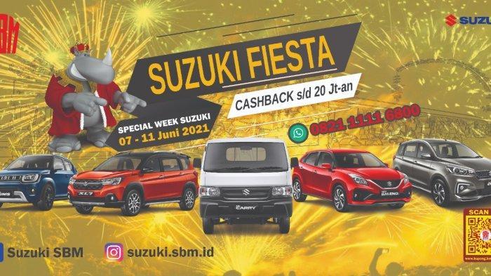 Upaya PT Suzuki Batara Mahkota Hadirkan Event Suzuki Fiesta di Empat Kota, Simak Infonya