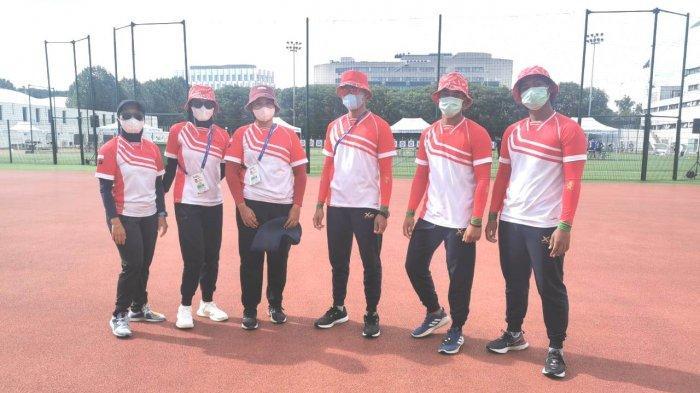 Timnas Panahan Indonesia Tiba di Paris Langsung Lakukan Latihan di Charlety Stadium