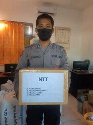 Pandemi Covid-19, Ketua Umum Bhayangkari Pusat Beri Bantuan Tenaga Medis Kabupaten Kupang