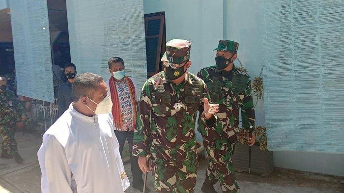 Lanud El Tari Kupang Gelar Vaksinasi Bagi Siswa SMPK Adisucipto