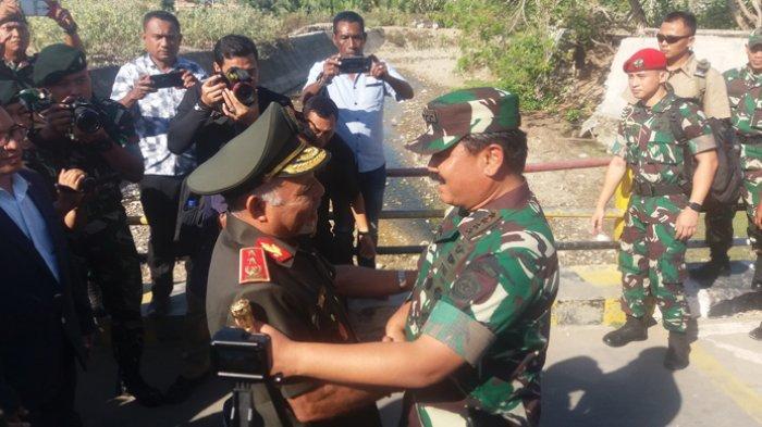 Indonesia -Timor Leste Jajaki Kerja Sama untuk Angkatan Bersenjata.