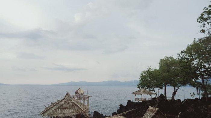 PANTAI-Pantai Kawaliwu yang terletak di Kecamatan Lebolema, Flores Timur.
