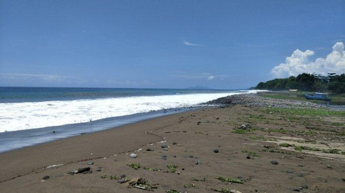 TRIBUN WIKKI: Ligot Beach Tawarkan Pasir Putih dengan Ombak Tinggi Berlapis, Simak Yuk