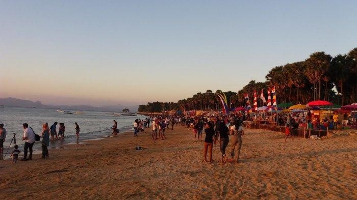 Live Streaming Pantai Oesapa Kupang Ntt Ramai Dikunjungi Warga Pos Kupang