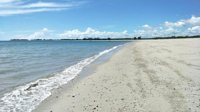TRIBUN WIKI: Pantai Wera, Sumba Timur Tawarkan Keindahan Pasir Putih