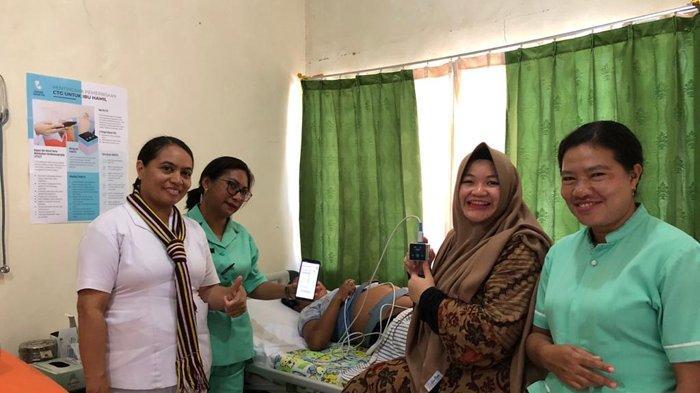 Sehati Group Bantu Pemda Mabar, Serahkan TeleCTG untuk Pantau Perkembangan Janin