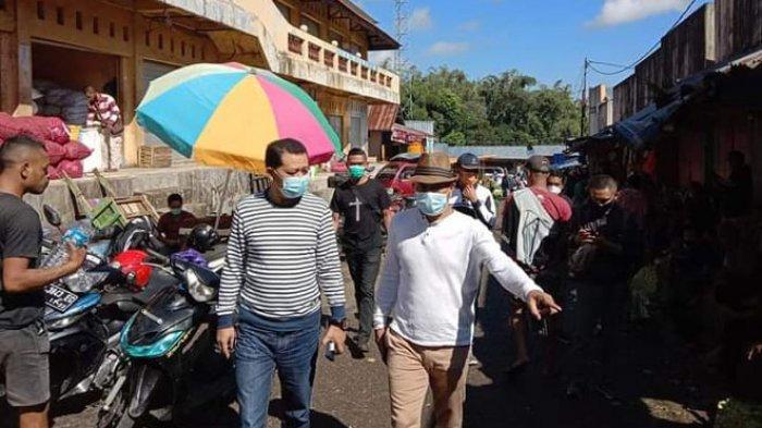 Pantau Pasar di Kota Ruteng, Begini Kata Wabup Heri