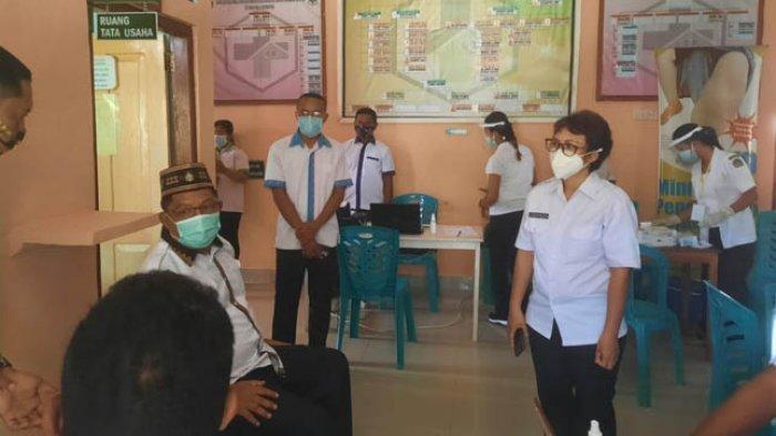 Pantau Vaksinasi Tahap 2 Bupati Agas Sebut Partisipasi Semua Pihak Rumus Efektif Kalahkan Covid-19