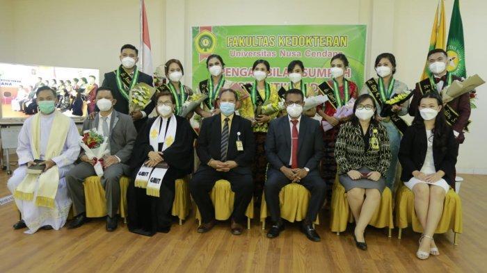 Sebelas Dokter Dilantik, Undana Inisiasi Buka Program Dokter Spesialis