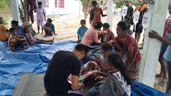 BREAKING NEWS : 99 Warga Desa Oe'ekam TTS Keracunan Makanan