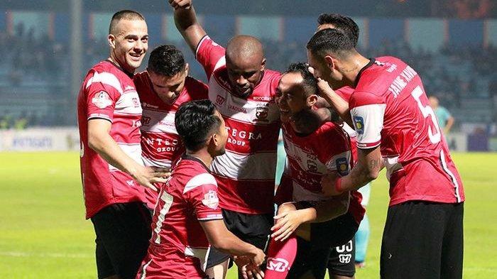 JELANG Piala Menpora 2021, Madura United Pemusatan Latihan di Kota Batu Akhir Februari, Info SPORT