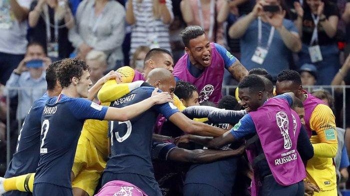 It is Final! Selesai Sudah! Prancis Juara!