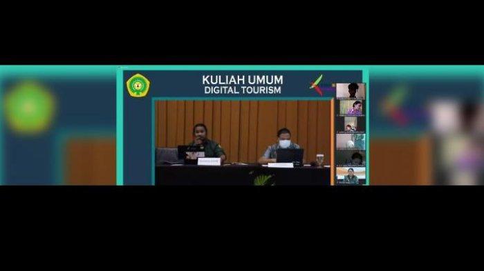 Prodi Ilkom FISIP Undana Kupang Gelar Webminar Digital Tourism