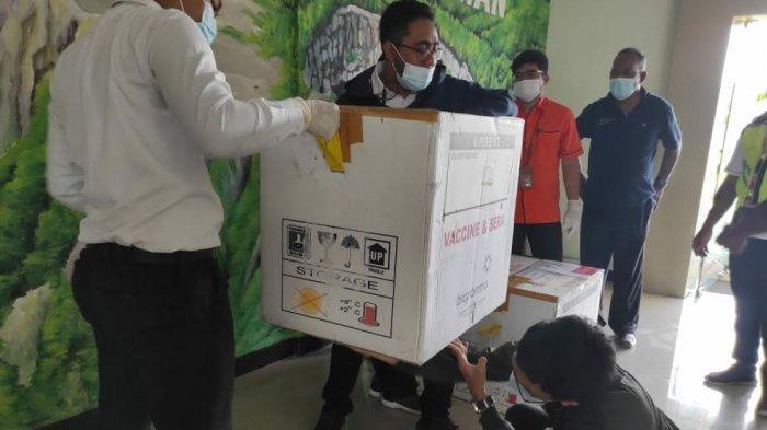 130 vial Vaksin Covid-19 Tahap II Tiba di Kabupaten Nagekeo