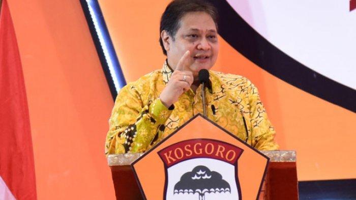 Ketua Komite Penanganan Covid-19, Airlangga Hartarto Apresiasi Warga Taat Tidak Mudik