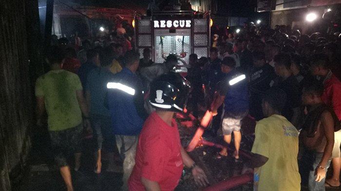 BREAKING NEWS: Pasar Inpres Naikoten Terbakar Lagi, Begini Kondisinya