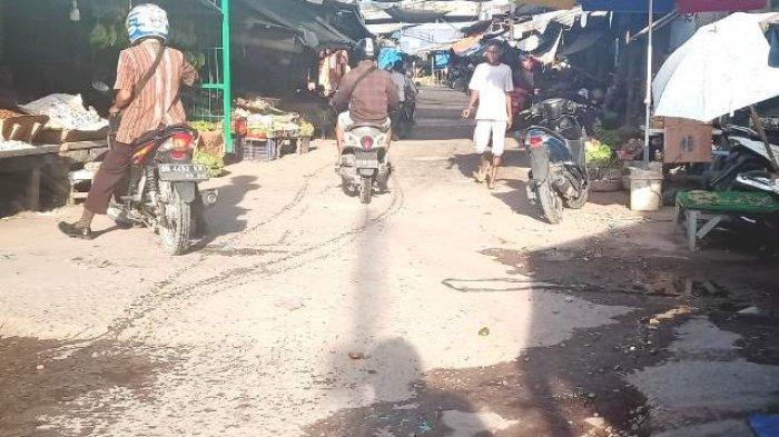 Pedagang Pasar di Kota Kupang Siap Jika PPKM Diterapkan,Tapi Ini Permintaan Pedagang Kepada Pemkot
