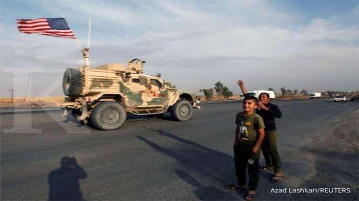 Pangkalan Miiliter Amerika di Irak Kembali Diserang , Roket Hantam Markas AU AS di Anbar