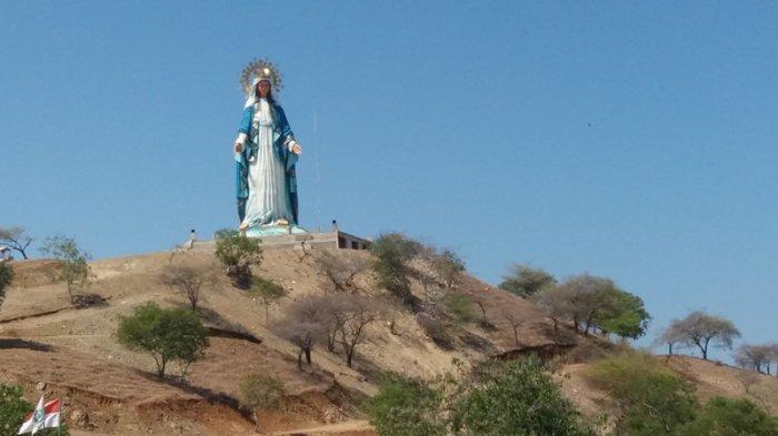 Belum Ditata Optimal, Pengunjung Patung Bunda Maria di Belu Sudah 34 Ribu