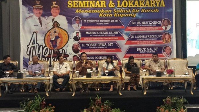 PDAM Kota Kupang Gelar Seminar dan Lokakarya, Ini Temanya