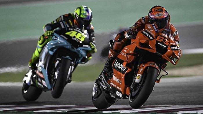 Jadwal Lengkap & Hasil, Klasemen MotoGP Doha 2021 Live Trans7 Minggu Ini Mulai Jumat 2 April 2021