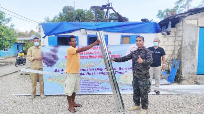 Peduli Warga Korban Bencana di Kupang, Forkabes NTT dan Richard Riwoe Center Galang Bantuan