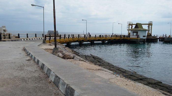 Sungguh Memprihatikan Pelabuhan Feri Weekeloh-Sumba Barat Daya