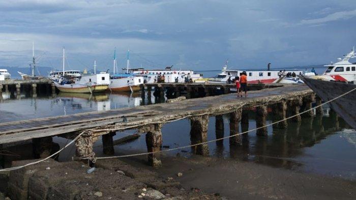 Pelabuhan Lewoleba Terancam Ambruk, Syahbandar Minta Dukungan Pemda Untuk Dana APBN