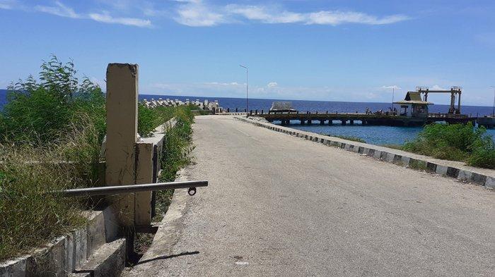 Pelabuhan Feri SBD Masih Mubazir