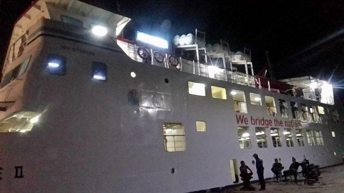 Hari Ini KMP Inerie II Tujuan Pelabuhan Ferry Waingapu