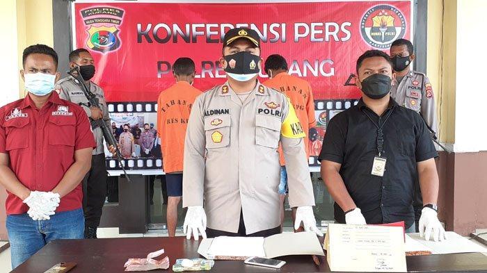 Pelaku Penembakan dan Penganiayaan Warga di Kelurahan Naibonat Dibekuk Polisi