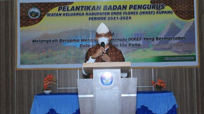 Pelantikan Badan Pengurus IKKEF, Begini Pesan Wali Kota Kupang