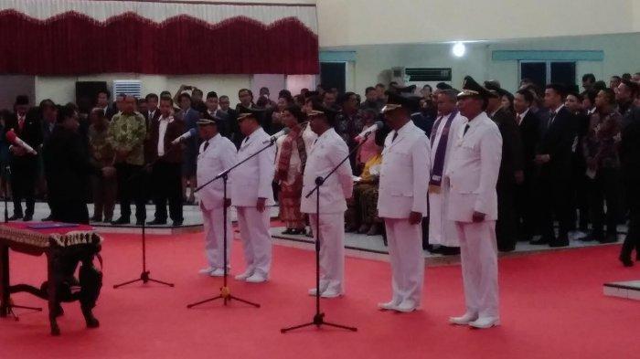 Gubernur Lantik Pasangan Bupati Kupang, Ende dan Bupati Ngada
