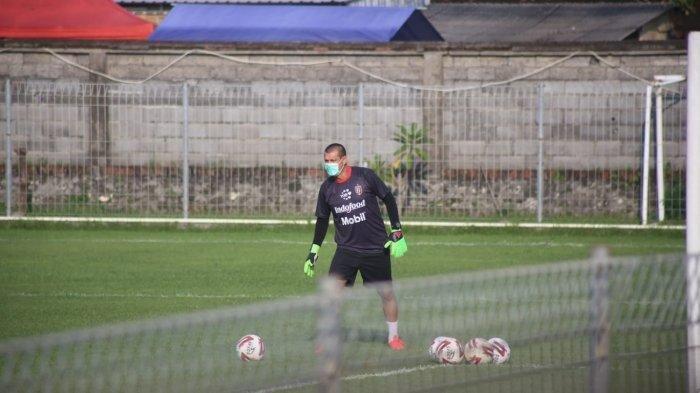 Pelatih kiper Bali United Marcelo da Silva Pires.
