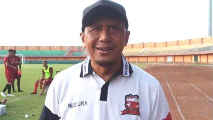 Pelatih Elang Jawa Madura United Siapkan Rotasi Pemain Jelang Laga vs PSIS Semarang di Liga 1