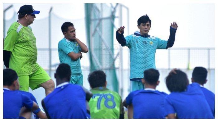 Asisten Pelatih Maung Bandung NIlai Penampilan Pemain Persib Bandung Kurang Konsisten, Penjelasan