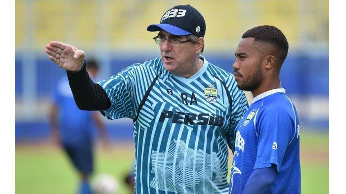 Soal Target Poin Persib Bandung di Putaran I Liga 1 2020, Robert Alberts Beri Jawaban Ini