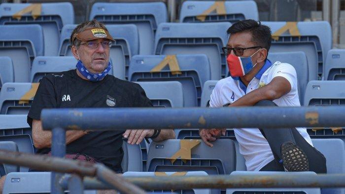 Status Pelatih Persib Bandung Robert Alberts PASCA Liga 1 2020 Dihentikan Diungkap Direktur PT PBB
