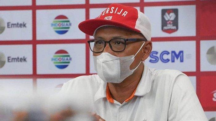 Sedih, Pelatih Persija Jakarta Tidak Lagi Saat Macan Kemayoran  Main di Liga 1 2021, Ini Alasannya