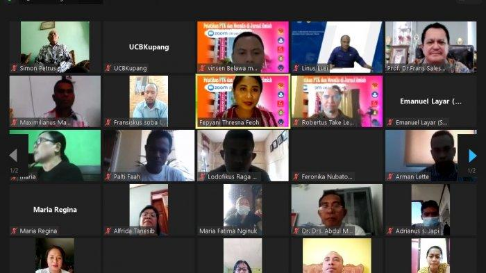 UCB Kupang Gelar Pelatihan PTK dan Menulis Karya Ilmiah bagi Guru di NTT