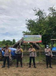 Peluncuran Program Kampung Tangguh  oleh Kapolres Belu, AKBP Khairul Saleh  Pejabat Utama Polres Belu serta masyarakat Dusun Bereilaka, Rabu (24/2/2021).