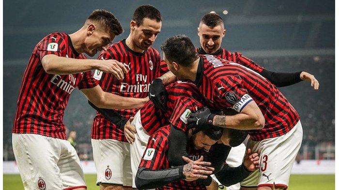 Copa Italia, Milan Lolos ke Pertempat Final Berkat Gol Piatek & Samu Castillejo ke Gawang SPAL