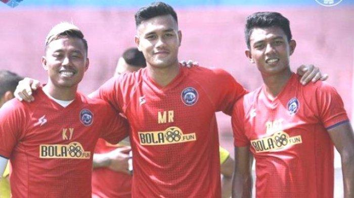 Lawan Persija, Arema FC Berpeluang Mainkan 2 Pemain Timnas Dedik Setiawan dan Kushedya Hari Yudo